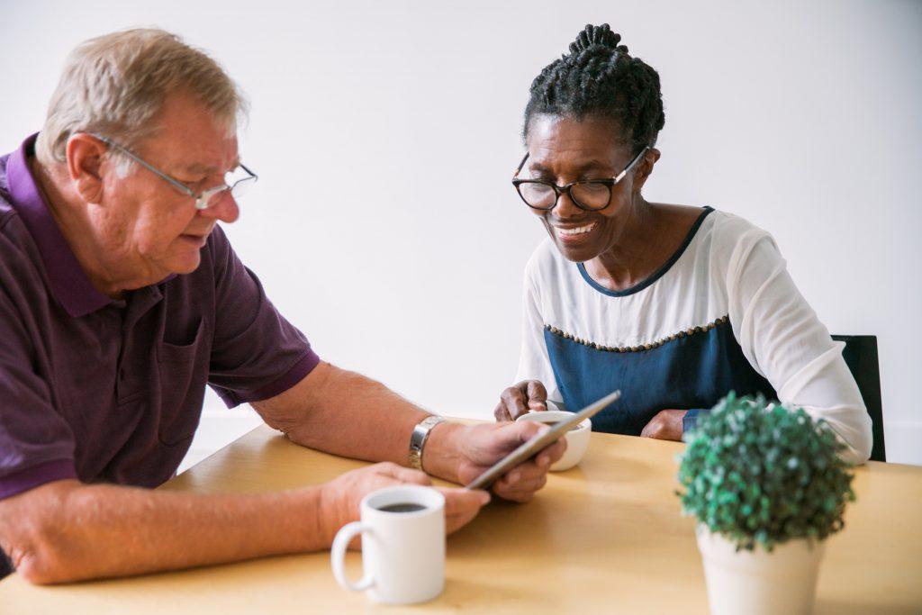 Senior Citizens Mastering Technology